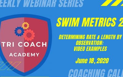 Swimming Metrics with Video Examples